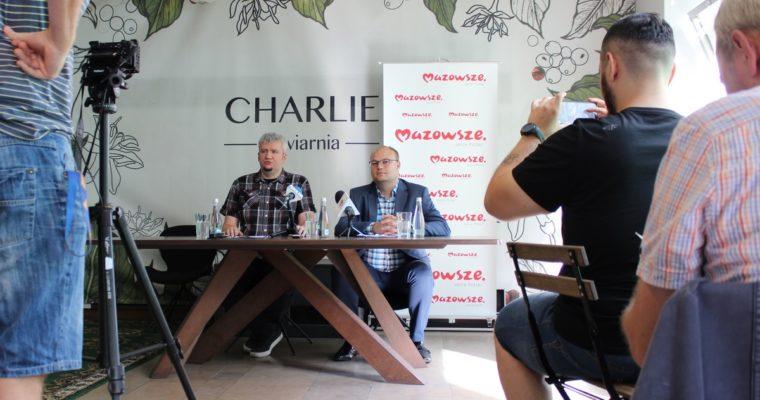 Konferencja prasowa projektu Sygnał/Szum dofinansowanego przez Samorząd Województwa Mazowieckiego